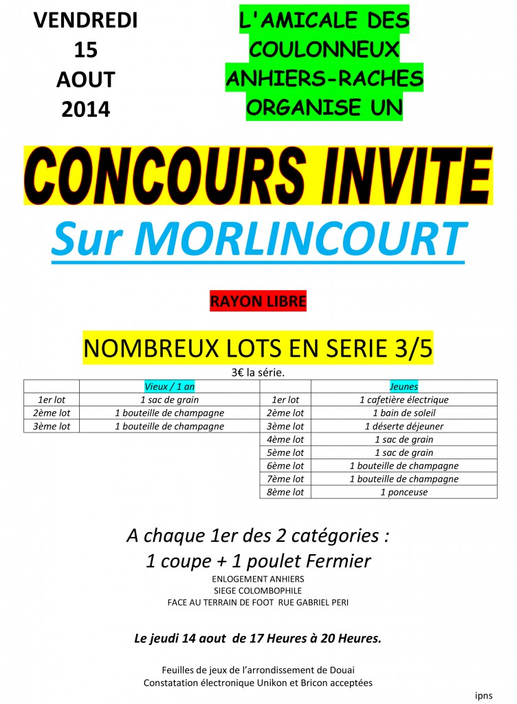 concours 15-08-2014
